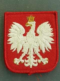 GENUINE Post WW2 Polish Army Emblem arm patch