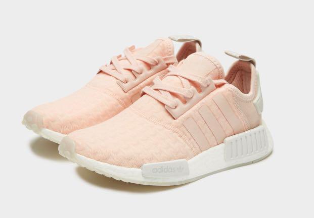 Adidas NMD R1 Pink White UK 3.5 to 9