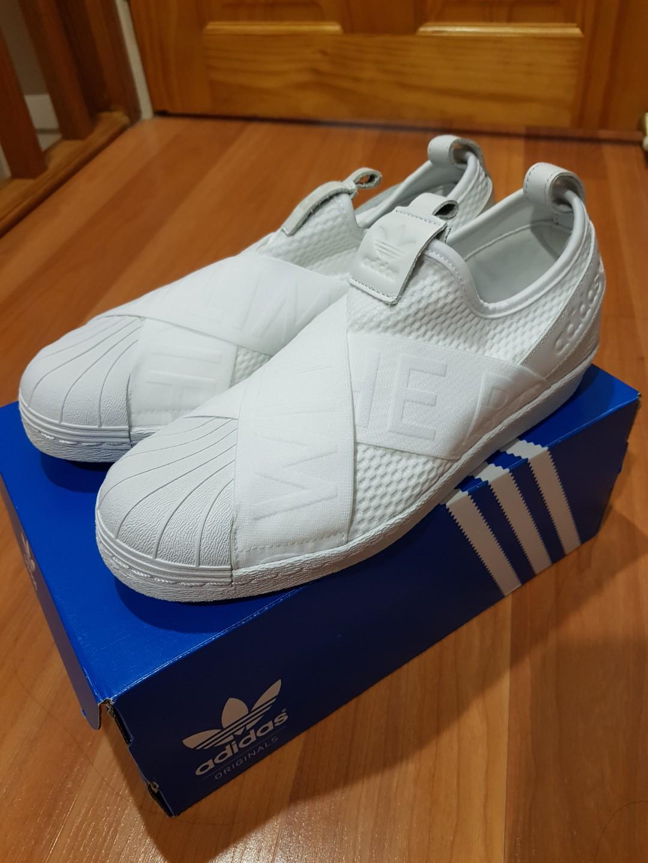 san francisco 0b76e 7418a Adidas Superstar Slip On White (price drop!) on Carousell