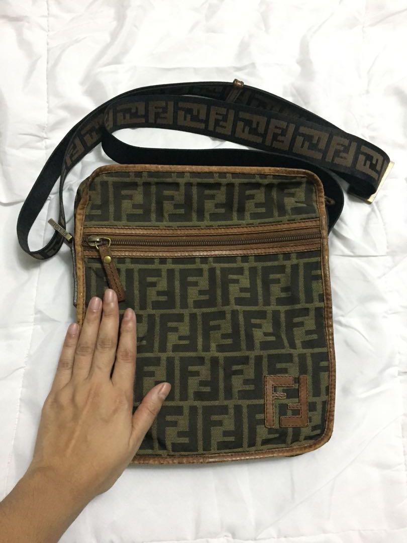 587aa28ac1f0 Authentic Fendi Messenger bag