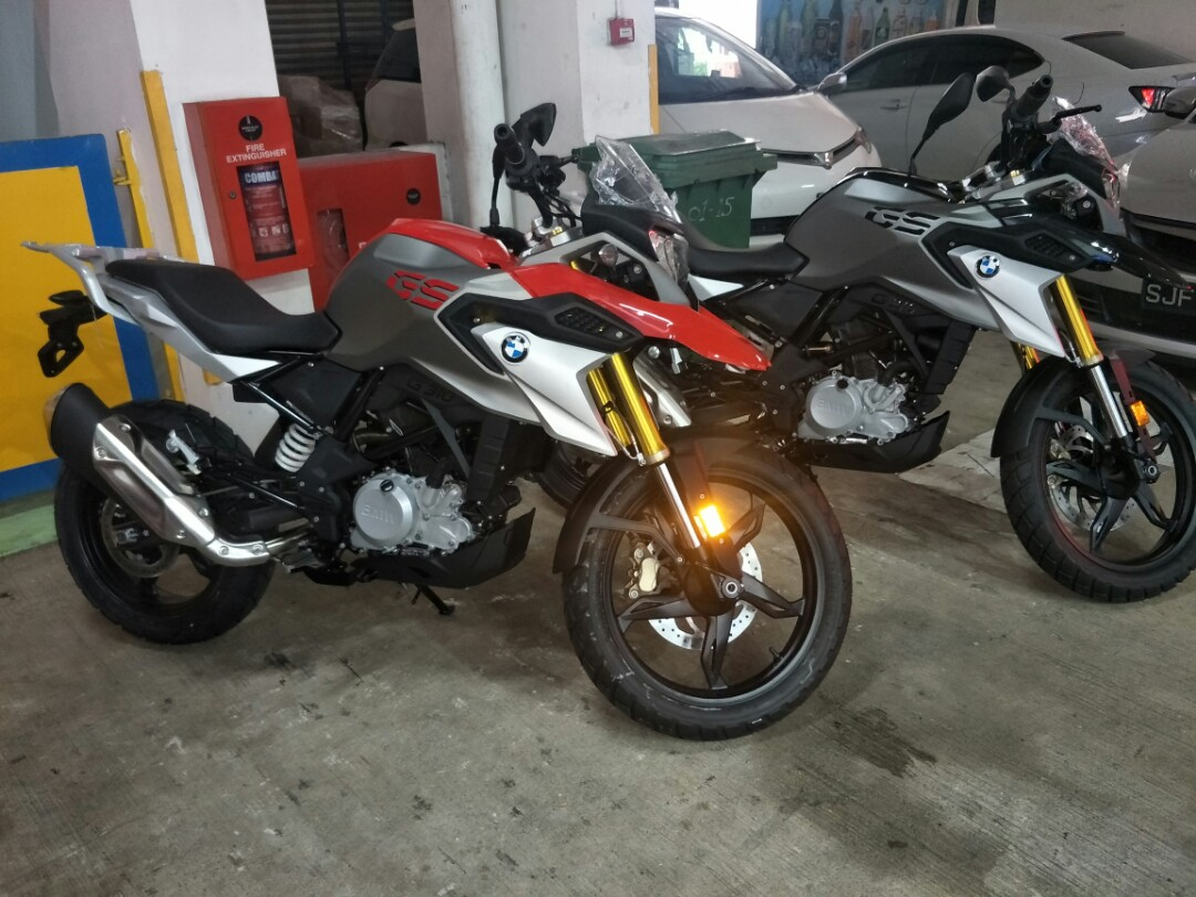 Bmw G 310 Gs Motorbikes Motorbikes For Sale Class 2a On Carousell