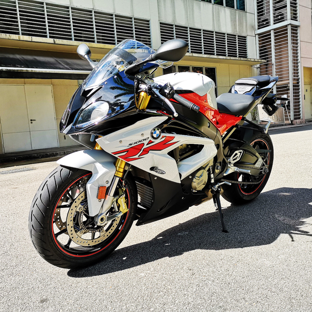 Bmw S1000rr Racing Red Light White Reg Date 22 01 2018 Mileage