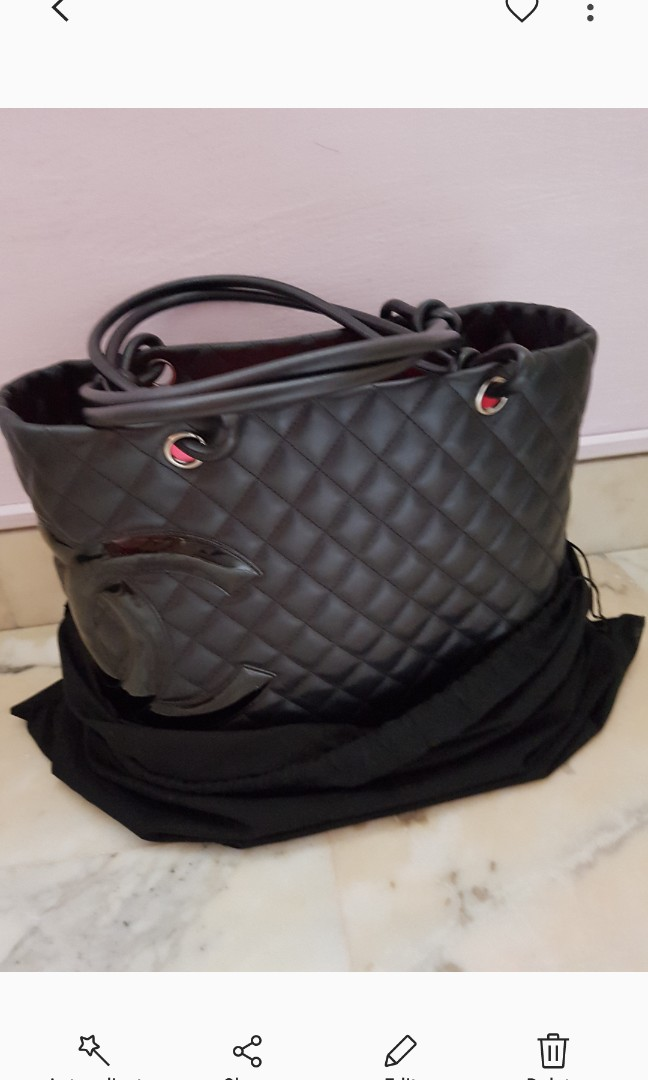 07df8a0daf5b Chanel Cambon large shopper Tote Bag., Luxury, Bags & Wallets ...