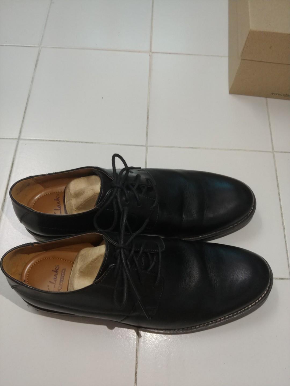 clarks becken plain black