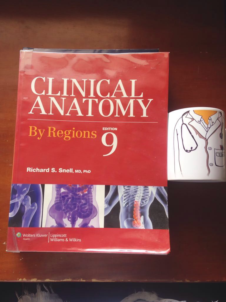 Clinical Anatomy By Regions, Textbooks on Carousell