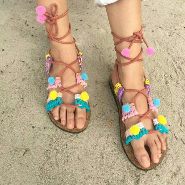 Contoh pakai gladiator sandal