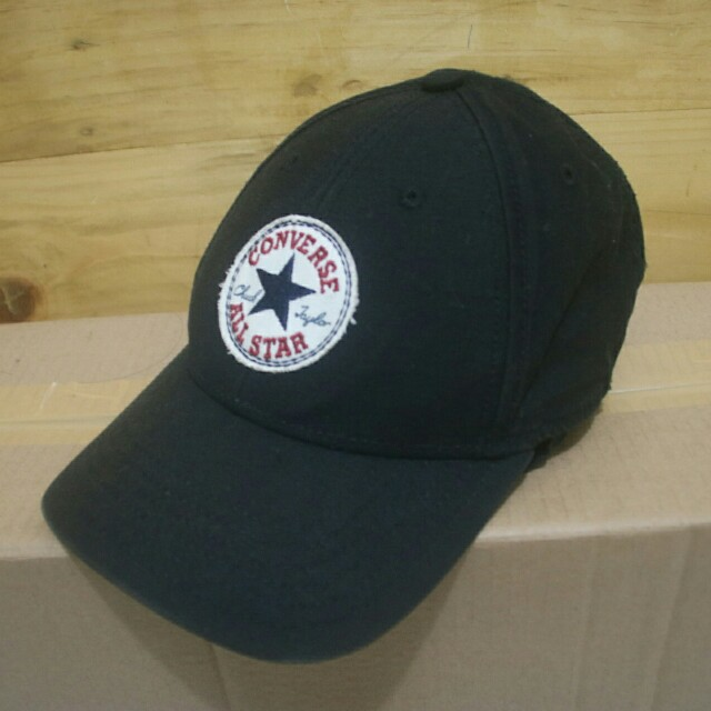 converse tip off baseball cap black original 75f32304903