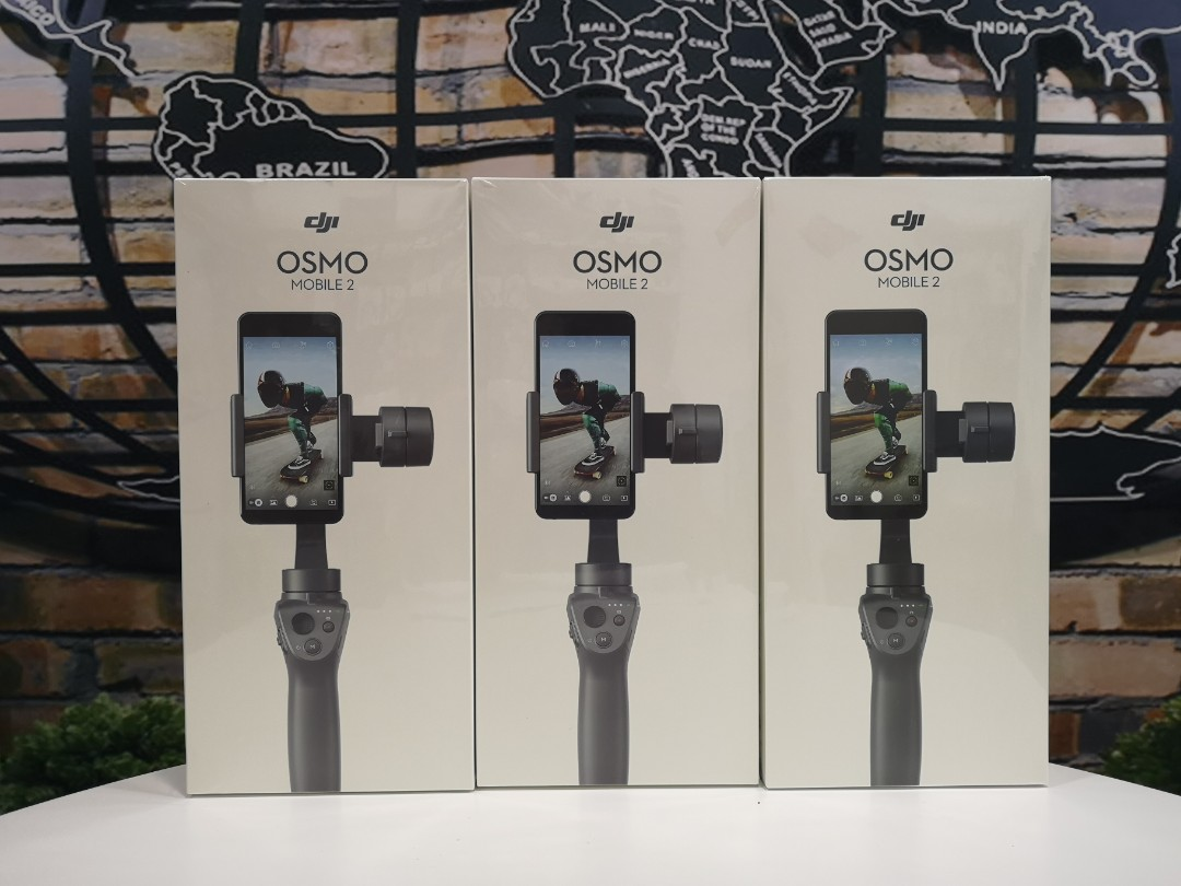 Dji Osmo Mobile 2 Smartphone Gimbal Restock Limited Set Photo