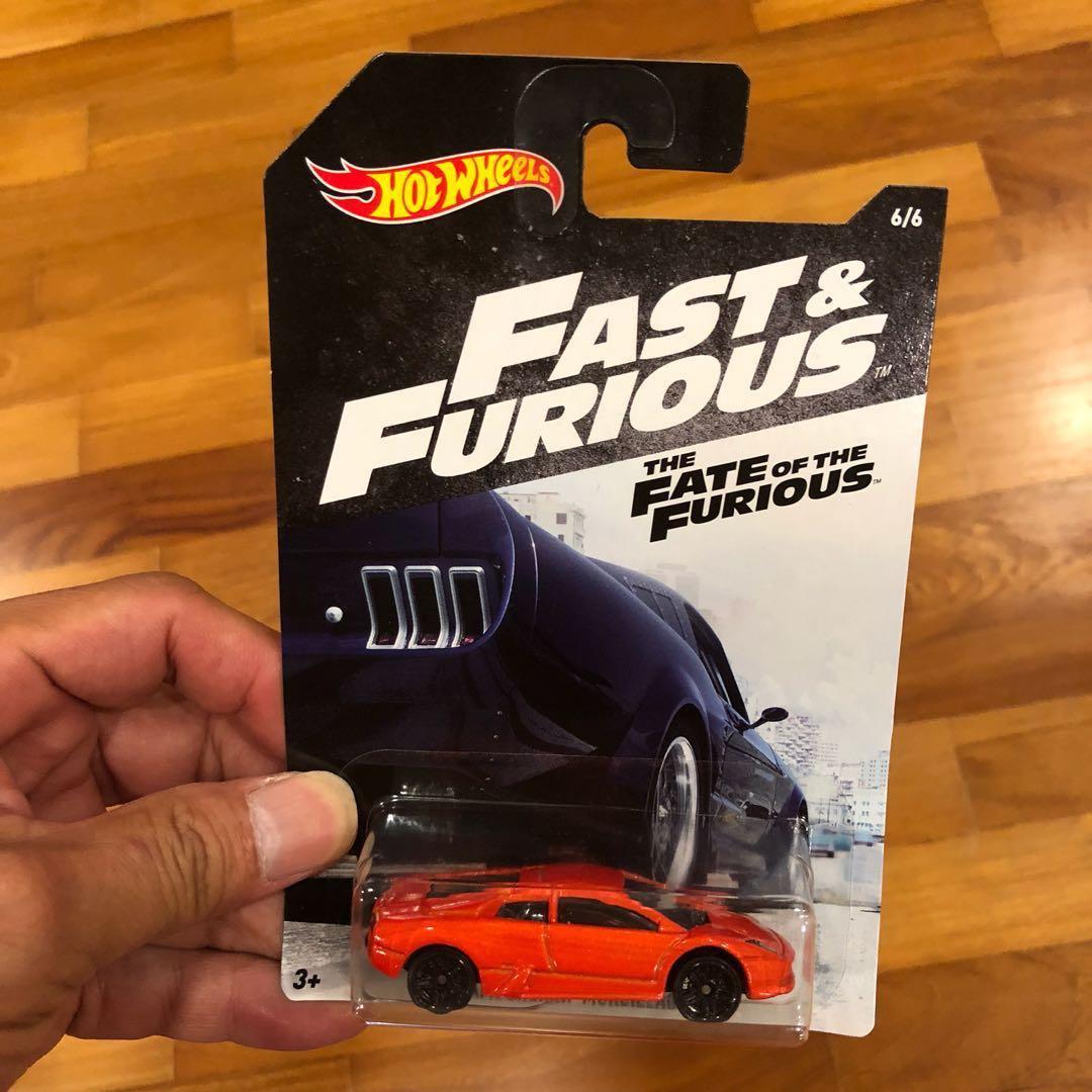 Hot Wheels Fast Furious Lamborghini Murcielago Toys Games