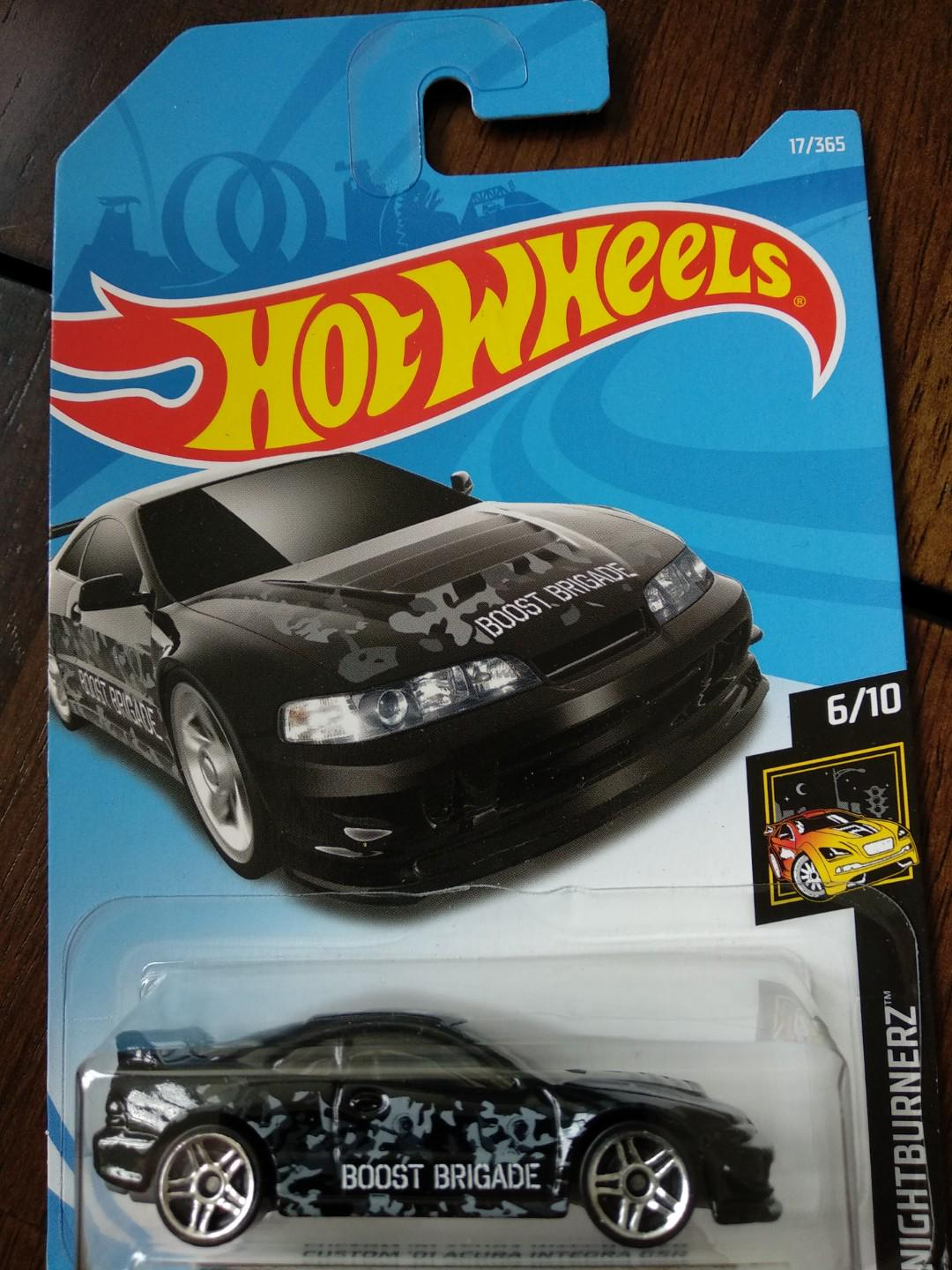 Hotwheels Honda Acura Integra Gsr Black Toys Games Others On Carousell