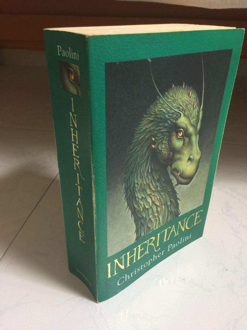 christopher paolini inheritance book 4