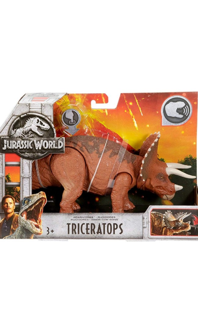 Action Figures Roarivores Triceratops Jurassic World