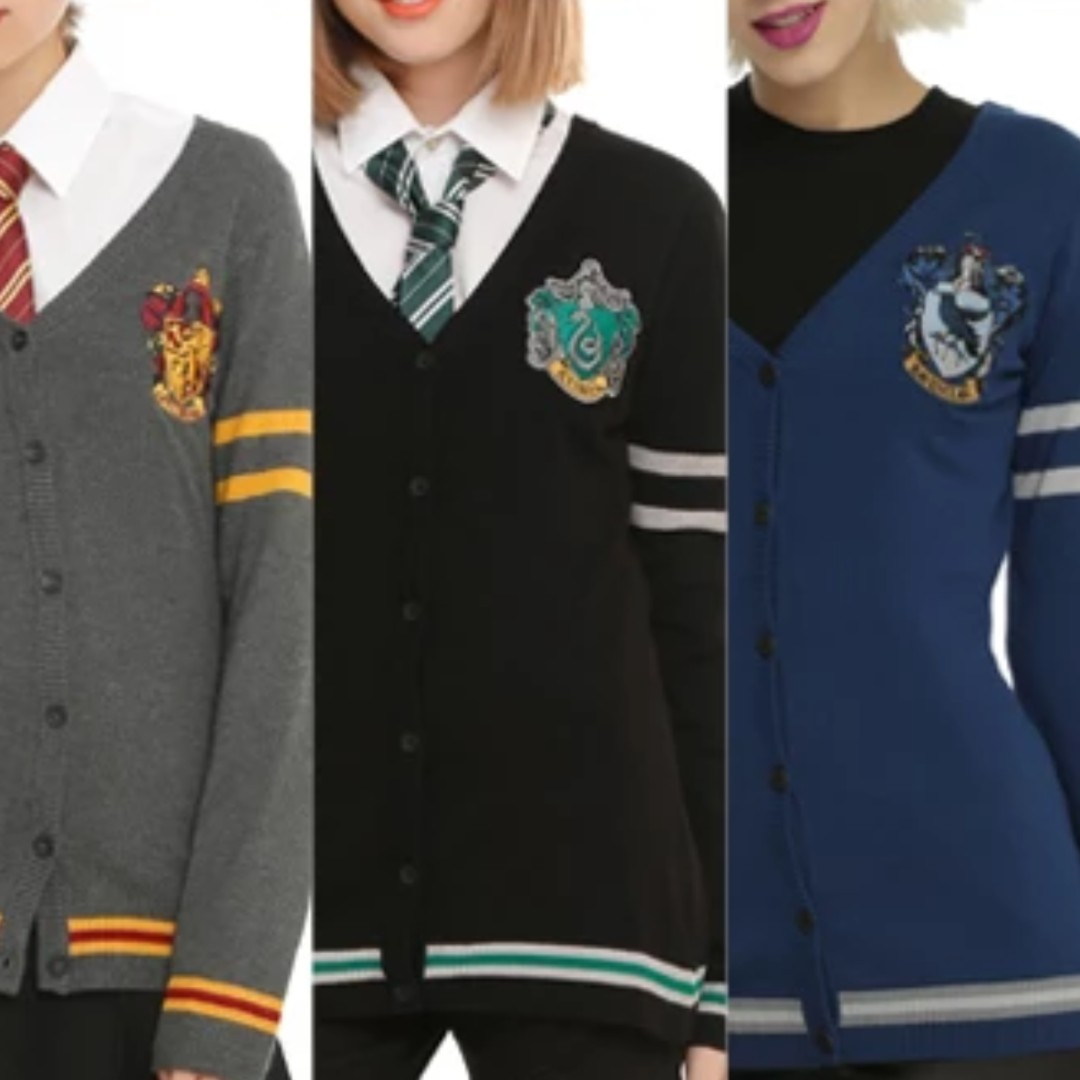 Closedlimited Preorder Harry Potter House Sweater Cardigan Womens