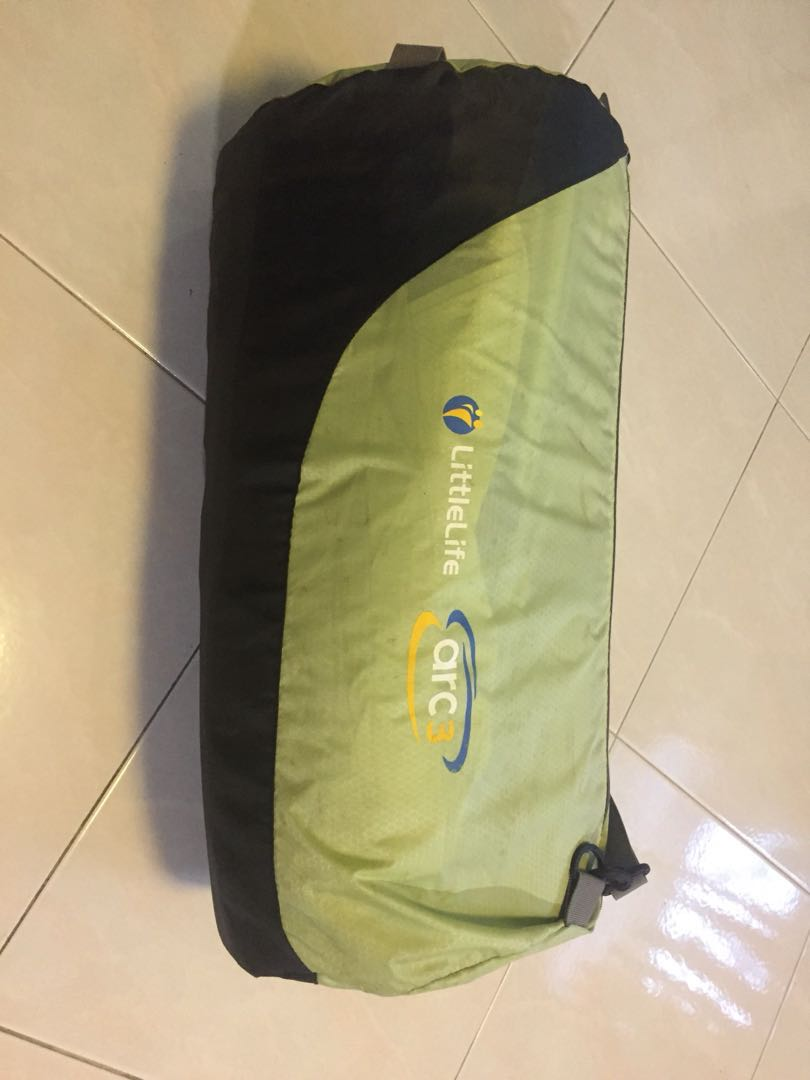 photo photo ... & Little Life Arc 3 baby toddler travel cot bed mattress tent Babies ...