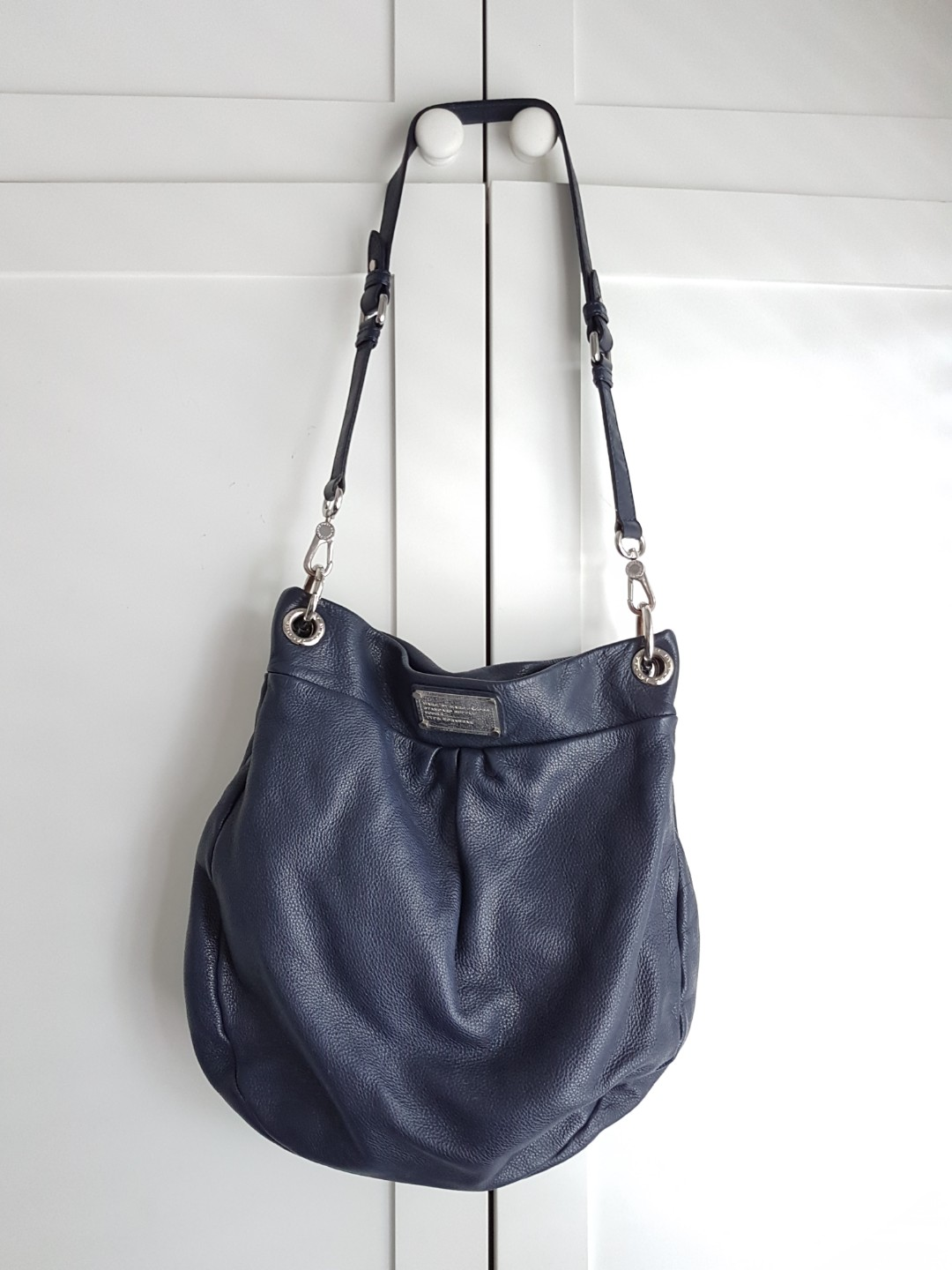 6237271bc7daf Source · Marc by Marc Jacobs blue leather hobo bag Luxury Bags   Wallets
