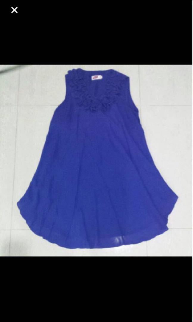 Maternity blue top or dress