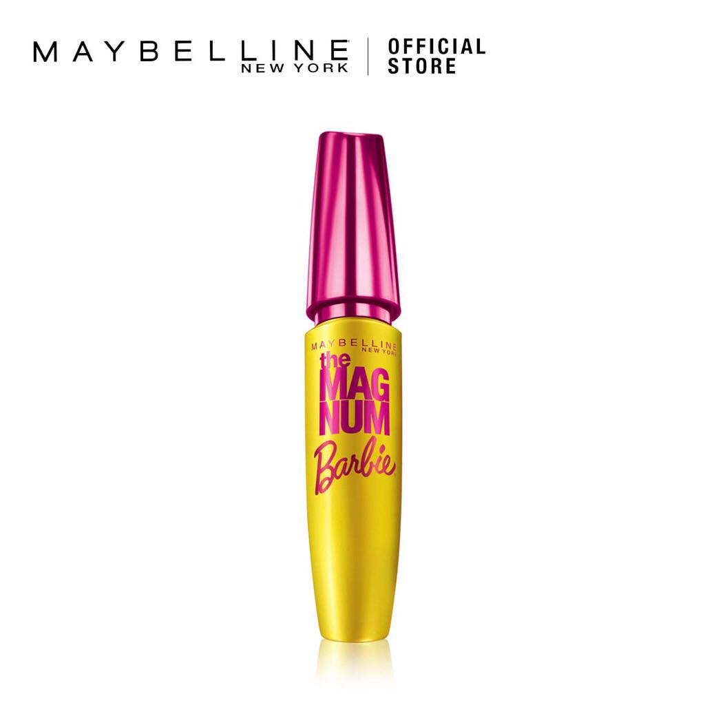 be690d5fdfb Maybelline Magnum Barbie Mascara, Health & Beauty, Makeup on Carousell