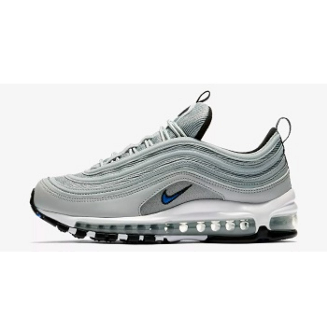 162b24da7b Nike Air Max 97 ( Light Pumice/Black), Men's Fashion, Footwear ...