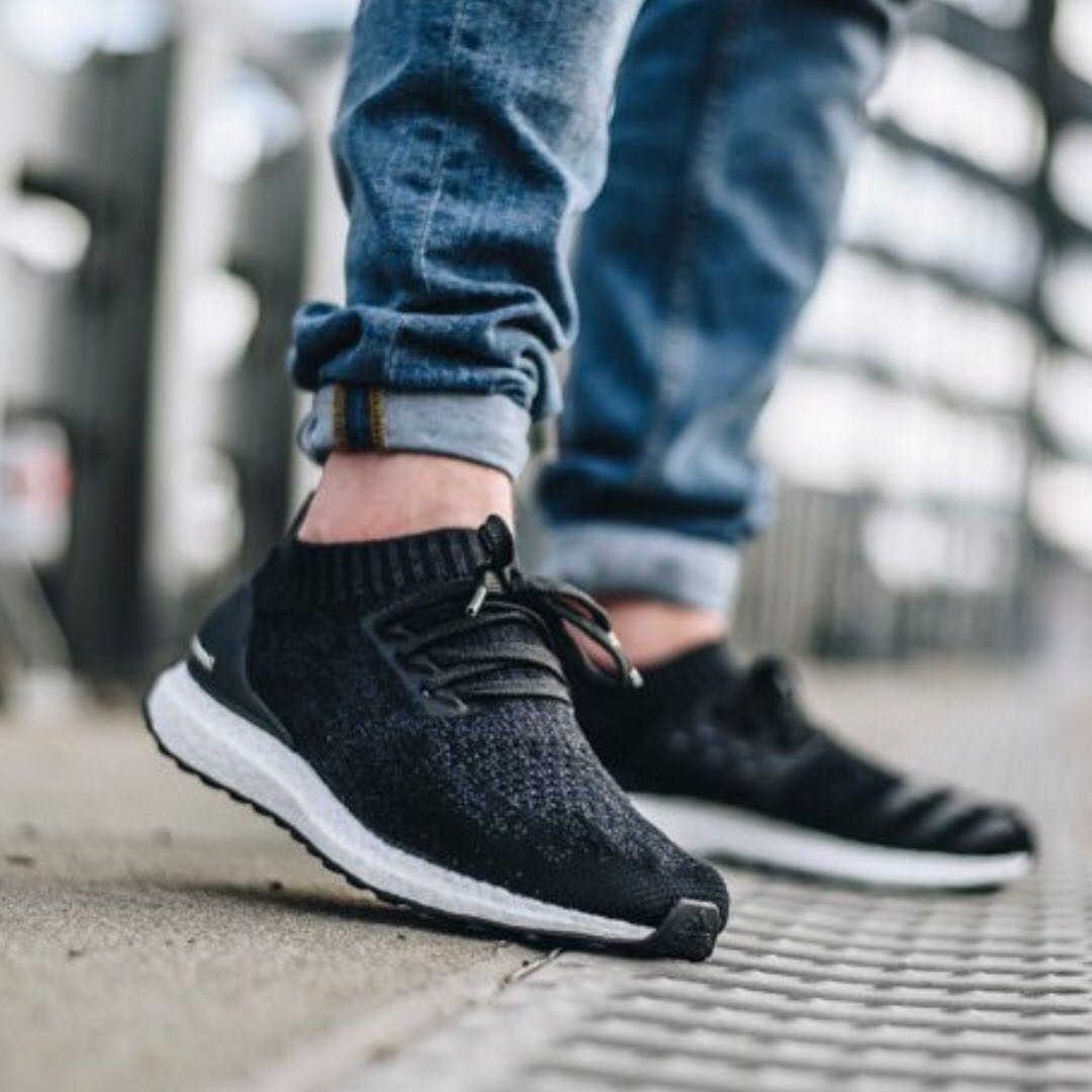 (PO) Adidas Mens Ultra Boost Uncaged Carbon Black a2ad7a67cd