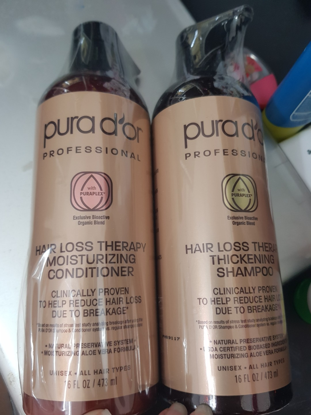 Pura D Or Hair Loss Therapy Shampoo And Conditioner Health Beauty