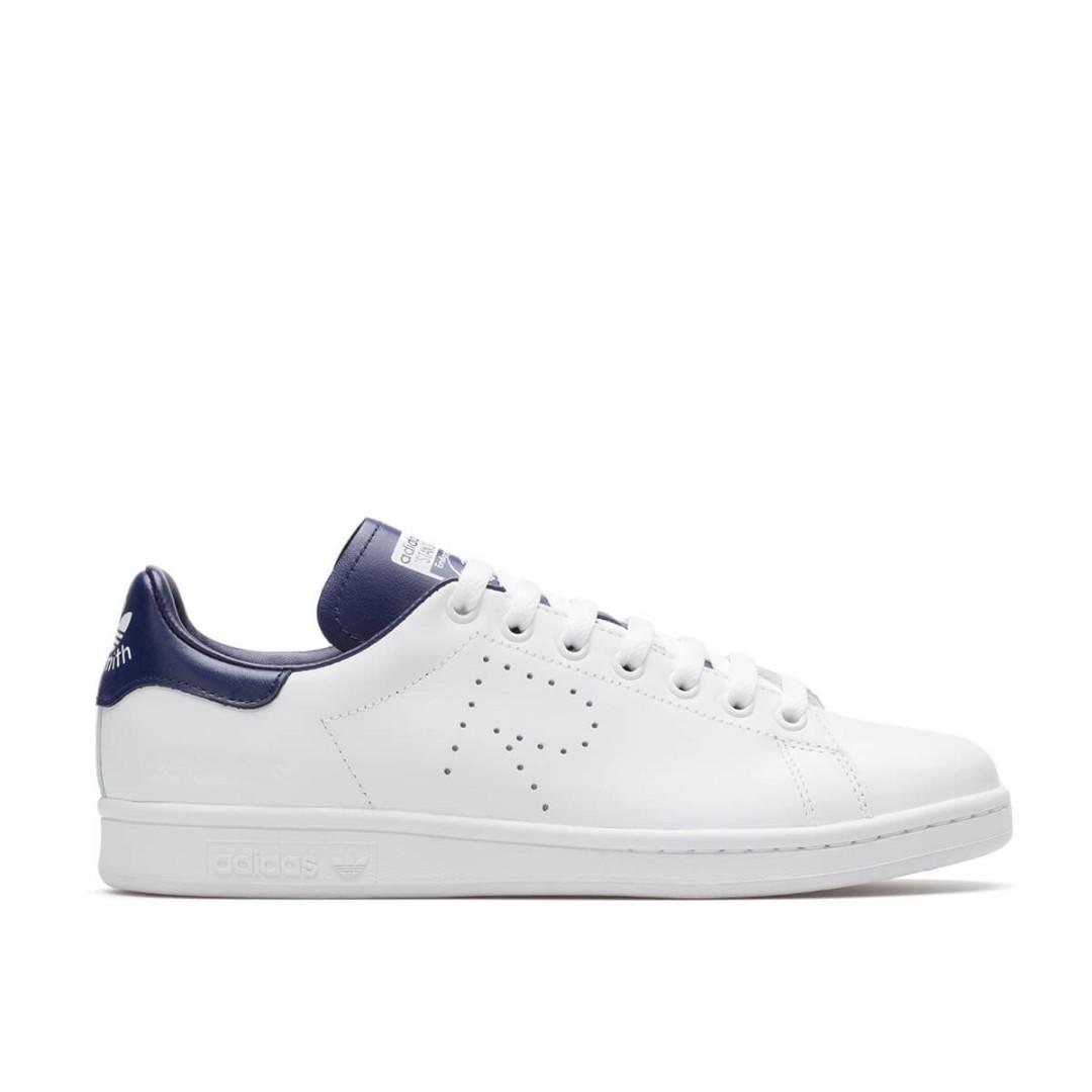 uk 9, raf simons x adidas stan smith, moda maschile, calzature