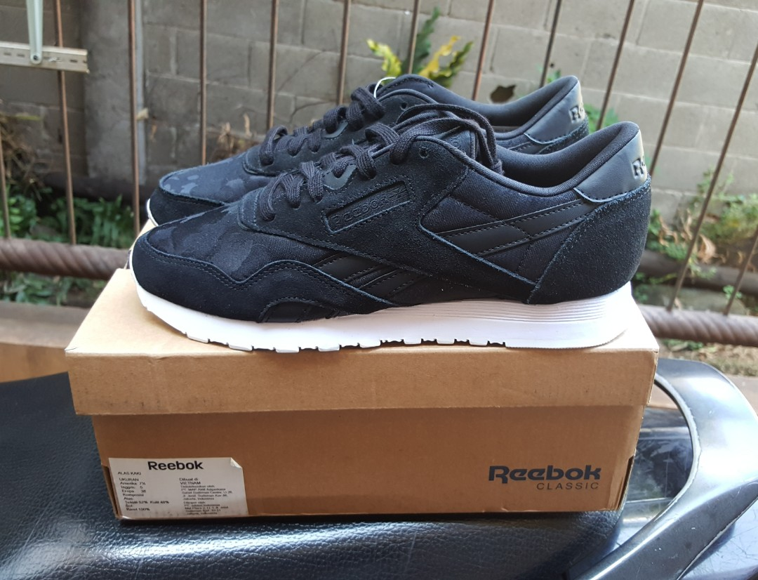 Reebok women Classic CL Nylon leather BNIB original murah 05b3c92e5a