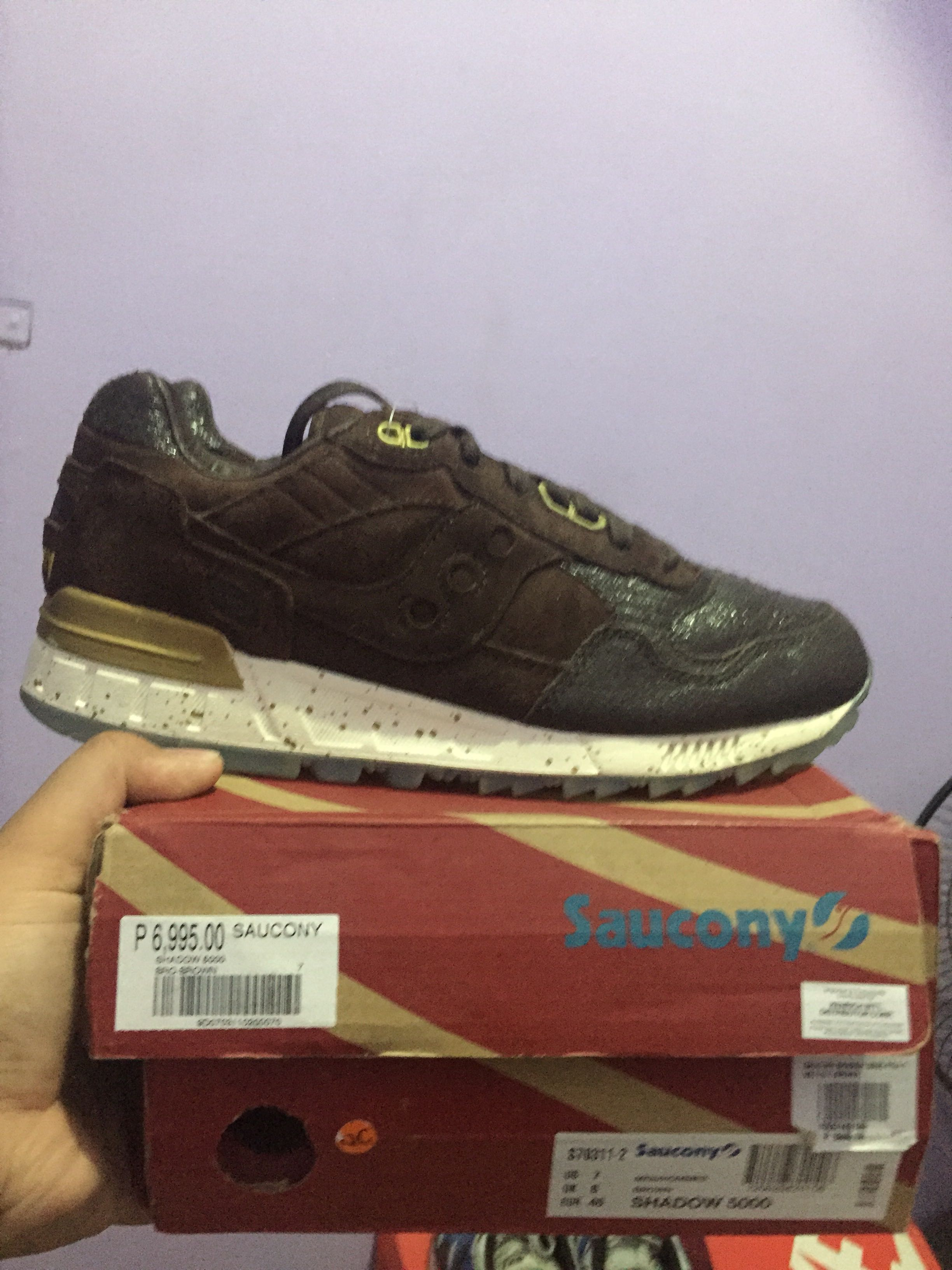 769deb20a62 Saucony Shadow 5000. Choco pack