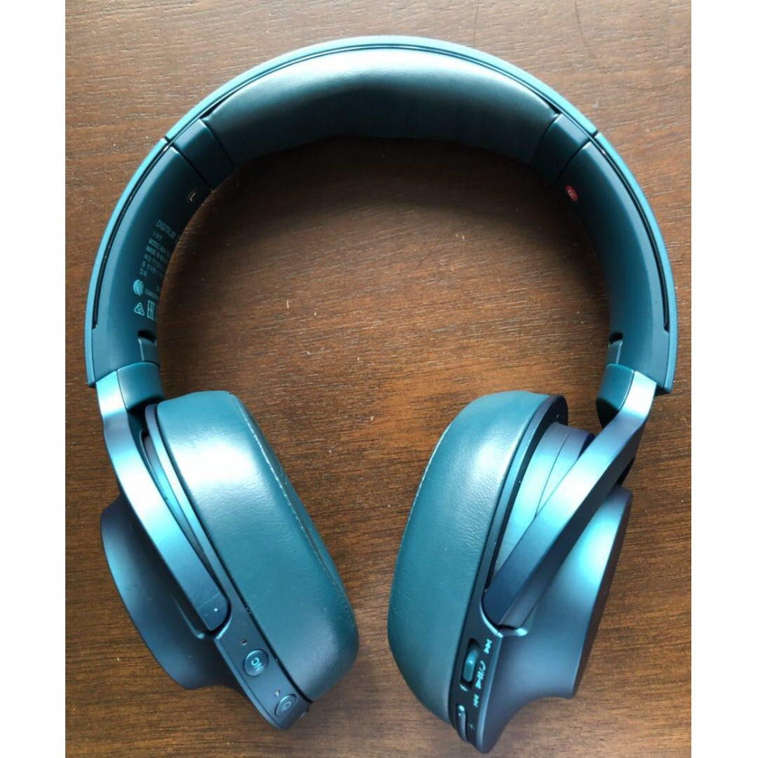Sony Mdr 100 Abn Head Phones Electronics Audio On Carousell Headphone Mdr100abn Bluetooth Noise Cancelling