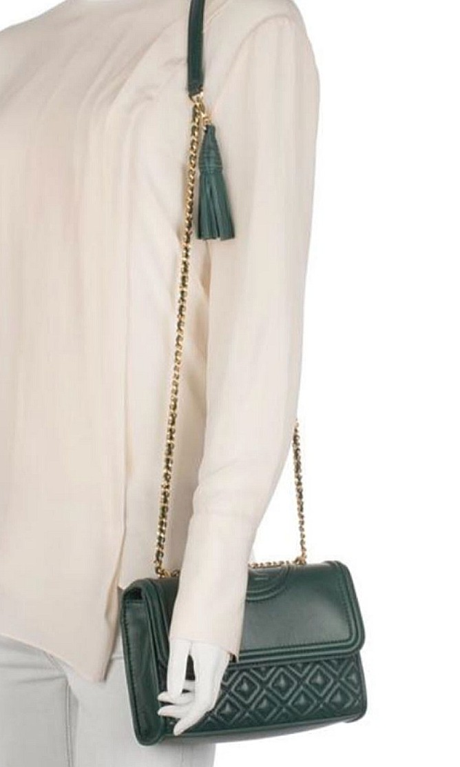 3363a5ae7c8 SPECIAL OFFER! Tory Burch Fleming Crossbody (100% Authentic)