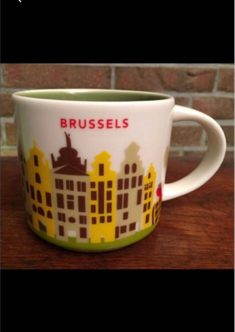 Starbucks MugHome Collectible Belgium Brussels Yah Appliances cj3RqLS54A