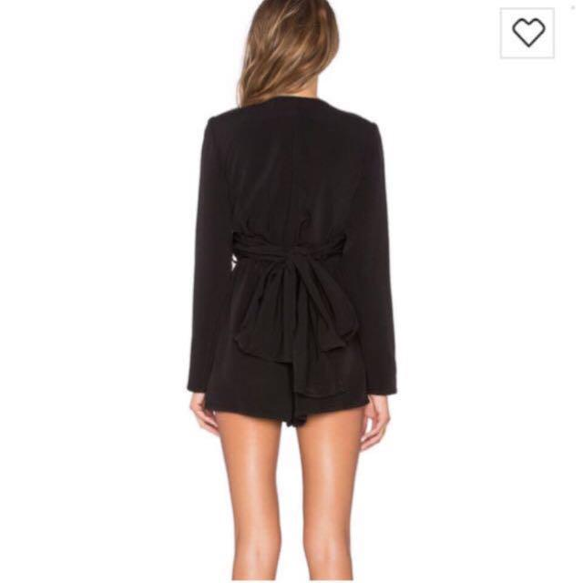 The Fifth Label Black Playsuit