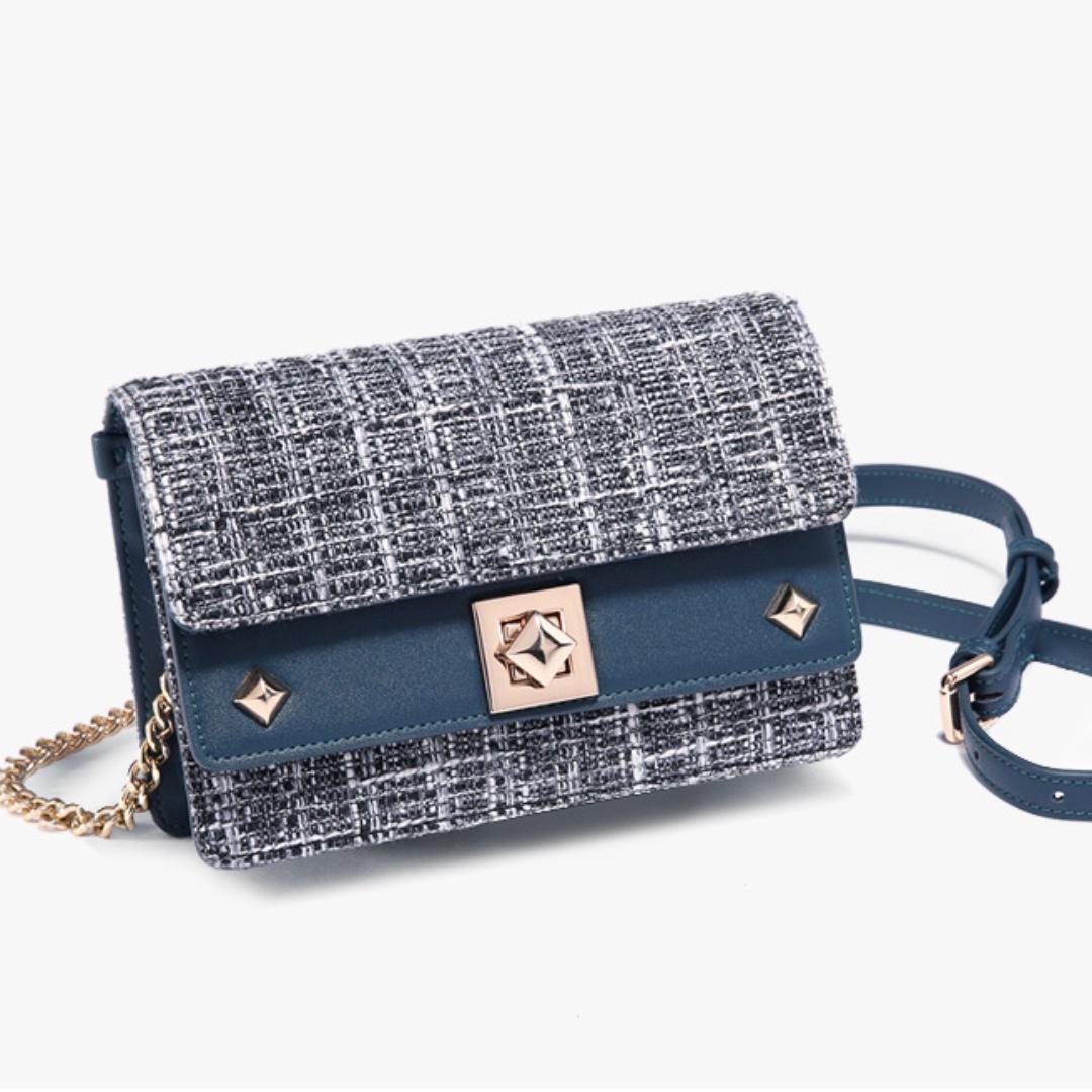 Tweed Mini Sling Bag   Clutch 377071ab47489