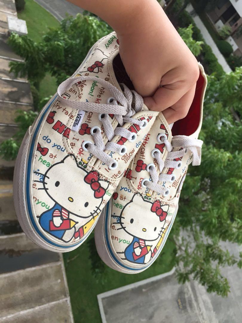73c46e1d3a Vans X Sanrio Hello Kitty Shoes