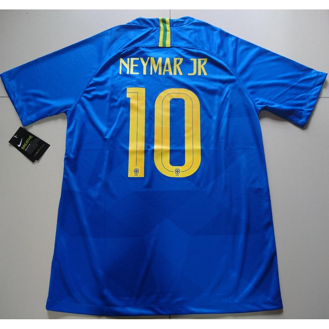 b5576d5b3 World Cup 2018 Neymar Brazil Away Jersey - M Size