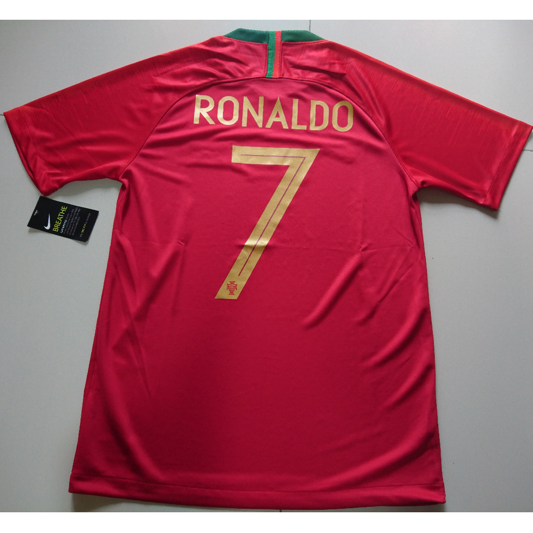 the best attitude aa72c fa816 World Cup 2018 Ronaldo 7 Portugal Jersey - S/M Size
