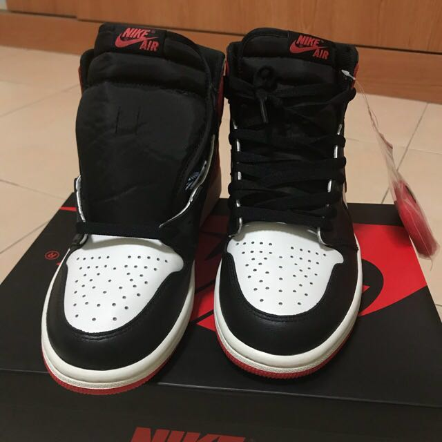 d3edfb899cb WTT / WTS Air Jordan 1 track red , Men's Fashion, Footwear, Sneakers ...