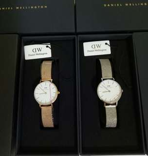 🚚 [INSTOCKS] DANIEL WELLINGTON CLASSIC MELROSE & STERLING 28MM WATCHES