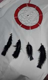 Black & Red dreamcatcher