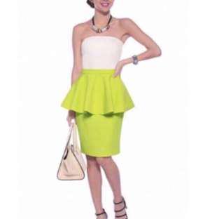 Love Bonito peplum skirt
