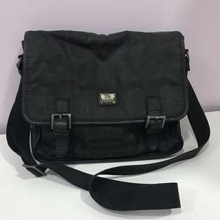 Burberry Black Label Sling Bag Authentic