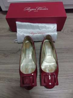 Roger Vivier Flats red size 35.5