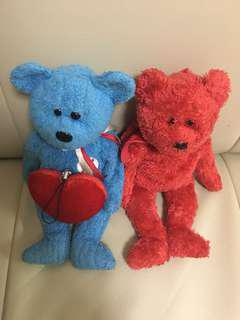 Couple bear + heart