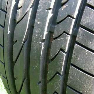 Tayar Bridgestone 265 35 18 Mercedes 212 BMW E60 Tebal 95% Rm700 Sebiji