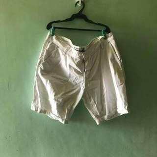 Penshoppe white denimlab shorts