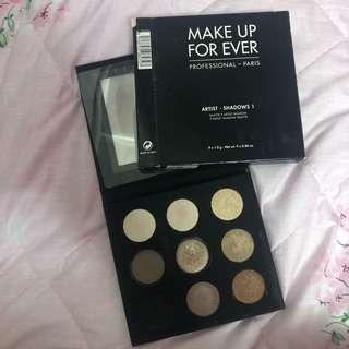 🚚 Makeup Forever Artist 1 Shadows