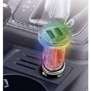 韓國 汽車用薄身USB充電器 ( 7色 + 4.8A )