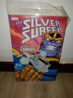 Marvel Comic's Silver Surfer Rebirth of Thanos