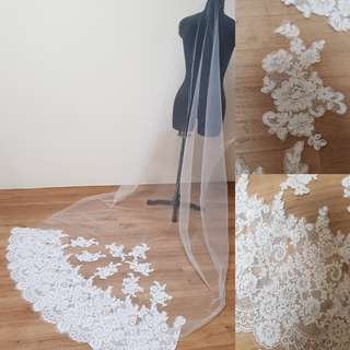 🚚 Instock - corded lace (3m length, 1 layer)
