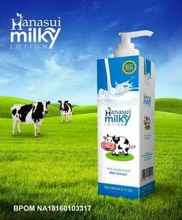 Hanasui milky lotion