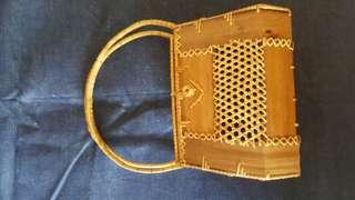 Vintage ratan bag